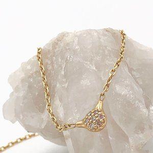 Pandora 14K diamond necklace